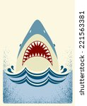 Shark Jaws.vector Color...