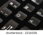 close up of a computer keyboard ... | Shutterstock . vector #2216106