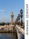 Small photo of Alexander III bridge in Paris