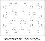 vector illustration of white... | Shutterstock .eps vector #221639269