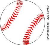 baseball | Shutterstock .eps vector #22163950