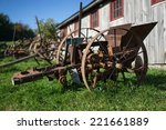 Old Rustic Farm Equipment