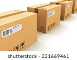 shipping  logistics and retail... | Shutterstock . vector #221669461