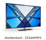 creative abstract television... | Shutterstock . vector #221669491