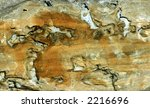 Sandstone from the Great Basin area of Northern Nevada - stock photo