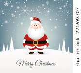 abstract christmas background... | Shutterstock .eps vector #221693707