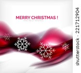 purple color christmas blurred... | Shutterstock . vector #221712904