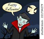 Vector Halloween Postcard....