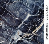 Marble Texture. Black And Blue...