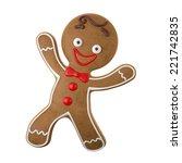 3d character  cheerful... | Shutterstock . vector #221742835