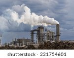 industrial scene with...