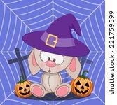 Halloween Illustration Of...
