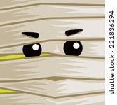 Cartoon Mummy Face