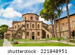 Stock photo famous basilica di san vitale one of the most important examples of early christian byzantine art 221848951
