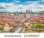 aerial view of the historic... | Shutterstock . vector #221850637