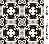 black and white geometric... | Shutterstock . vector #221865754