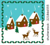 houses | Shutterstock .eps vector #221866555