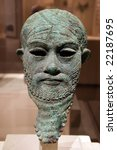 Small photo of Head of an Akkadian ruler, Early Bronze Age; 2300-?2000 B.C. Iran or Mesopotamia