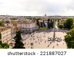 Panoramic View Of Piazza Del...