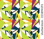seamless pattern | Shutterstock .eps vector #221894191