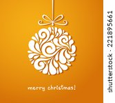 Vector Christmas Decoration Of...