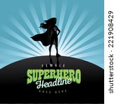feminist superhero burst...
