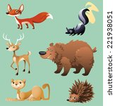 Cat  Hedgehog  Elk  Deer  Skun...