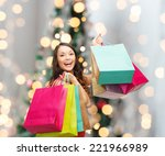 sale  gifts  holidays and... | Shutterstock . vector #221966989