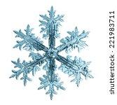 Snowflake Crystal Natural