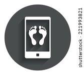 selfie legs sign icon. self...