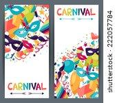 celebration seamless pattern... | Shutterstock .eps vector #222057784