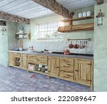 Beautiful Old Style Kitchen...