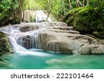 Beautiful Waterfall With...