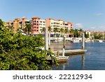 Yacht Harbor In Naples  Florida
