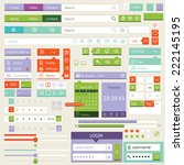 flat icons and elements for...