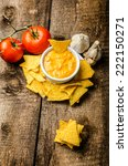 Tortilla Chips With Tomato And...