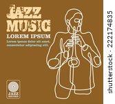 jazz   Shutterstock .eps vector #222174835