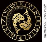 Golden Pisces Zodiac Sign....