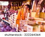 Various Types Of Hard Cheeses...