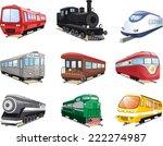 Train Engine Collection Cartoon ...