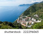 beautiful view on a village in... | Shutterstock . vector #222296065