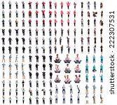 young crazy man | Shutterstock . vector #222307531