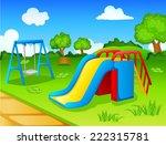 play park for children | Shutterstock . vector #222315781