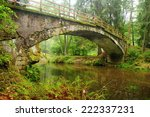 Very Old Bridge Over The River...