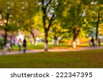 natural bokeh background in the ... | Shutterstock . vector #222347395