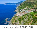 traditional mediterranean... | Shutterstock . vector #222351034