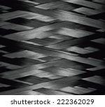 texture of carbon kevlar fiber... | Shutterstock . vector #222362029