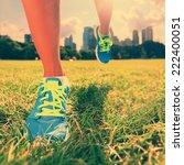 healthy lifestyle runner  ... | Shutterstock . vector #222400051