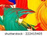color paint  | Shutterstock . vector #222415405