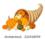 Autumn Cornucopia  Horn Of...